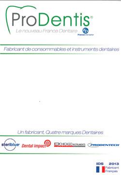 catalogue dentaire ProDentis ex France Dentaire