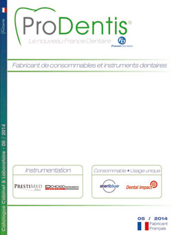 catalogue dentaire ProDentis 2014