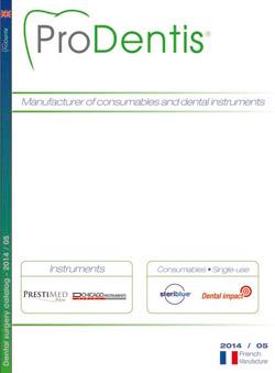 dental catalogue ProDentis 2014